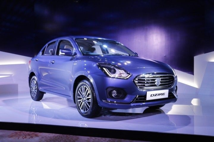 Dzire Launching Today Front