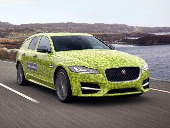 Jaguar Previews New XF Sportbrake, Unveil on June 14