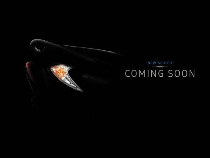 New TVS Scooty Zest 110
