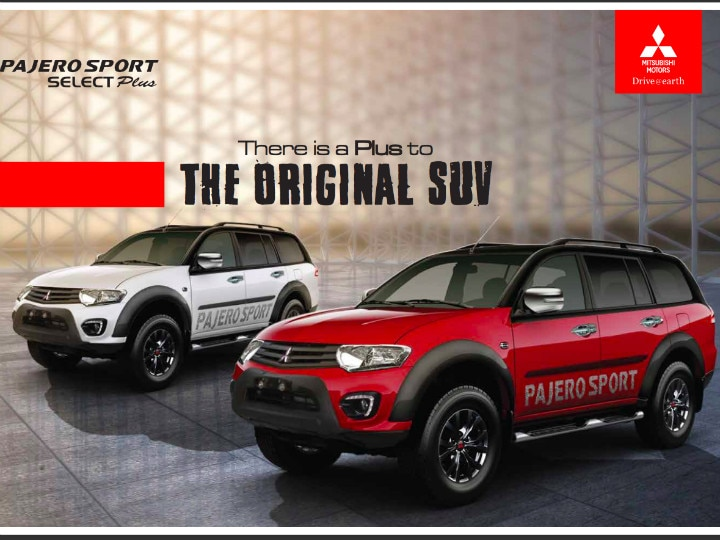 Mitsubishi Pajero Sport Select Plus
