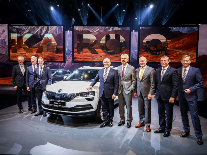 Skoda Karoq Makes World Premier