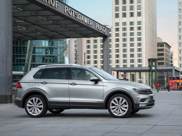 Volkswagen Tiguan Launched in India
