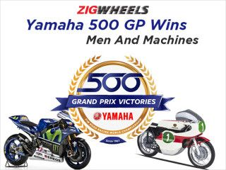 Yamaha 500 GP Wins - Men And Machines That Made It Possible