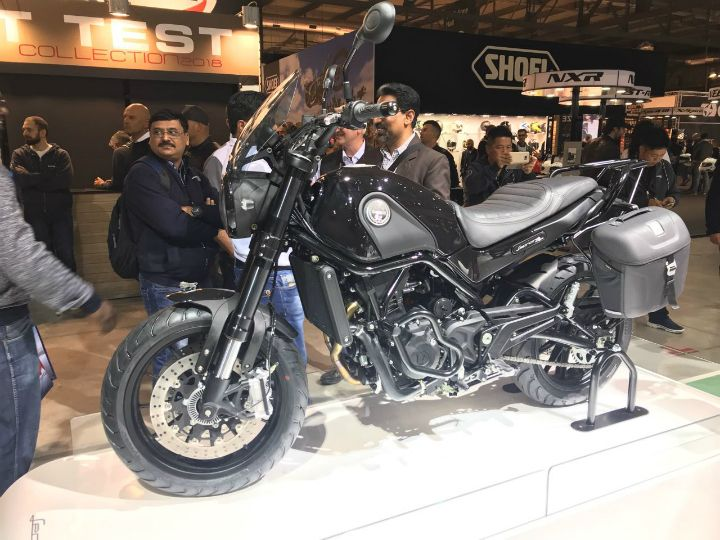 2017 Eicma Benelli S Leoncino Tribe Returns This Time