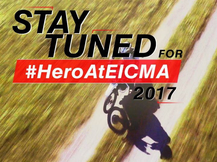 Hero Teases Off-Roader Ahead Of 2017 EICMA Show