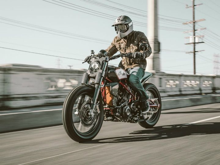 2017 EICMA: Indian Scout FTR1200 Concept Unveiled