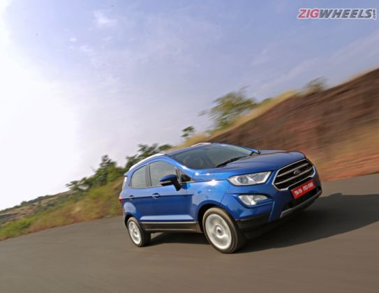 2017 Ford EcoSport Facelift: First Drive Review