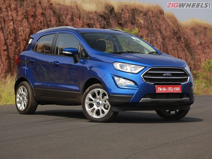 2018 Ford Ecosport Bookings Commence Zigwheels
