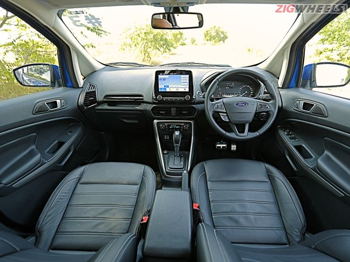 Ford EcoSport Facelift Interior