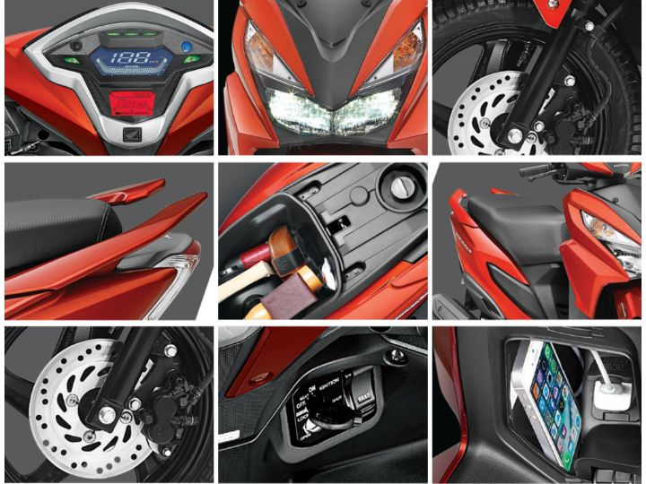 honda grazia launched at rs 57 897 zigwheels