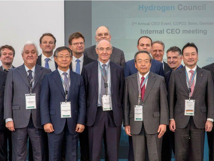 Hydrogen Council at COP 23, Bonn, Germany