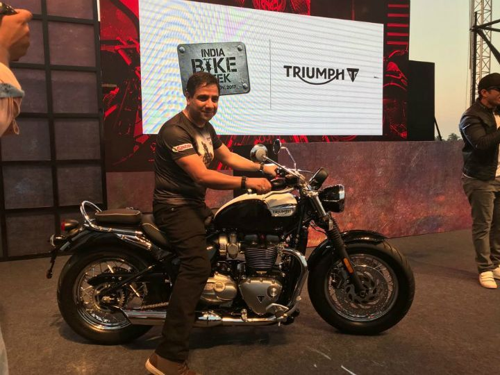 Triumph Motorcycles Completes Four Years In India