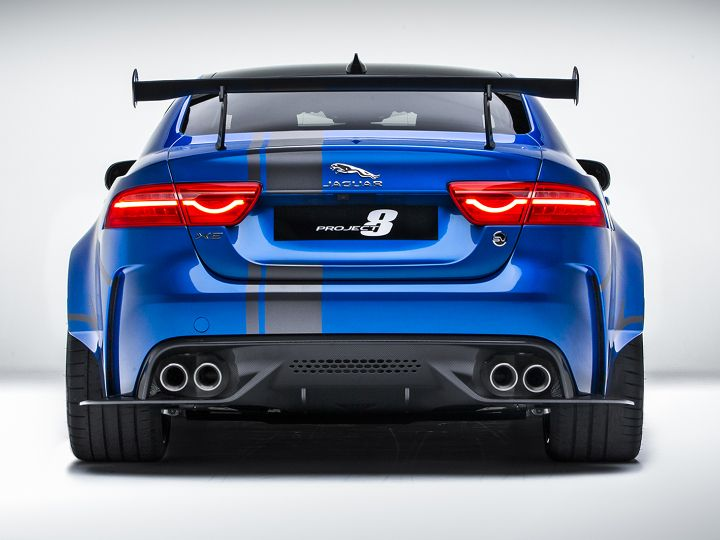 jaguar xe sv project 8 crushes sedan record at the ring. Black Bedroom Furniture Sets. Home Design Ideas