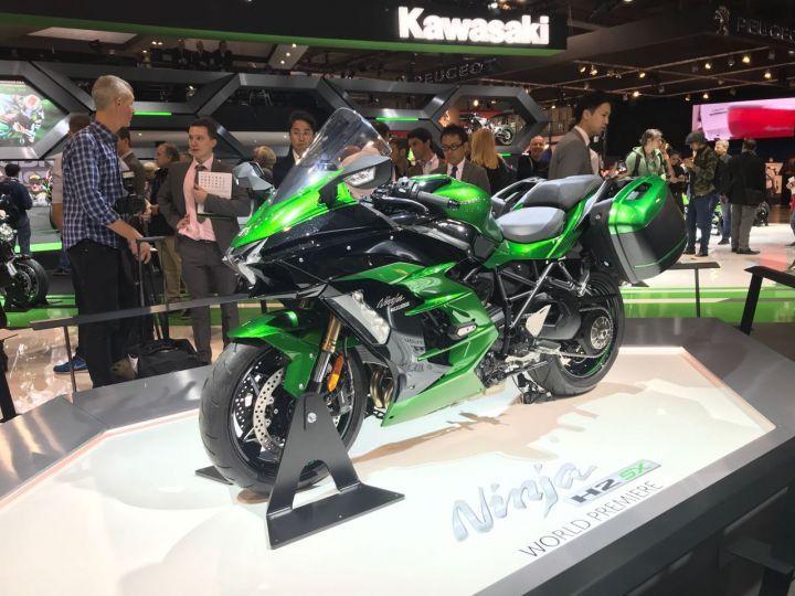 Kawasaki Ninja H2 SE revealed
