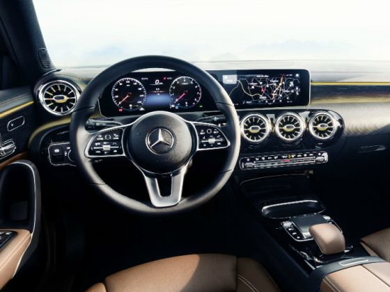 2018 Mercedes-Benz A-Class Interiors Revealed