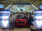 Datsun Rolls Out 100,000th Car