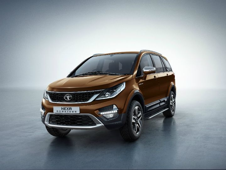 Tata Hexa Downtown Edition Launched