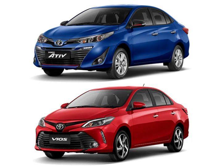 Toyota Vios And Toyota Yaris Ativ
