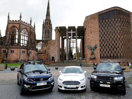 Tata, Jaguar Land Rover And Ford Kickstart UK's 'Autodrive' Testing