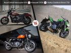 Royal Enfield Interceptor 650 vs Kawasaki Z650 vs Harley-Davidson Street 750: Spec Comparo