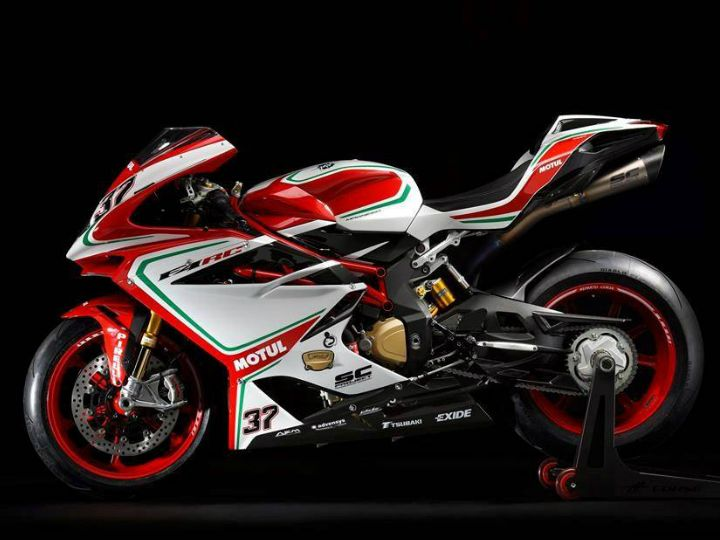 The bike pays homage to its racing history