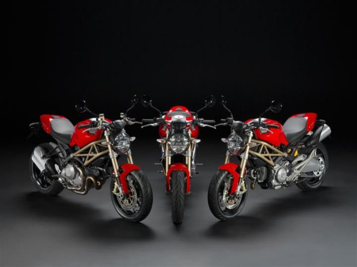 Ducati Monster 20th Anniversary Editions