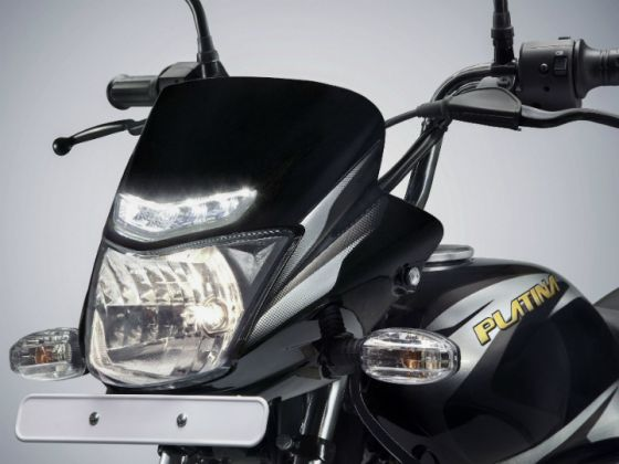 Bajaj Platina ComforTec With LED DRLs Launched