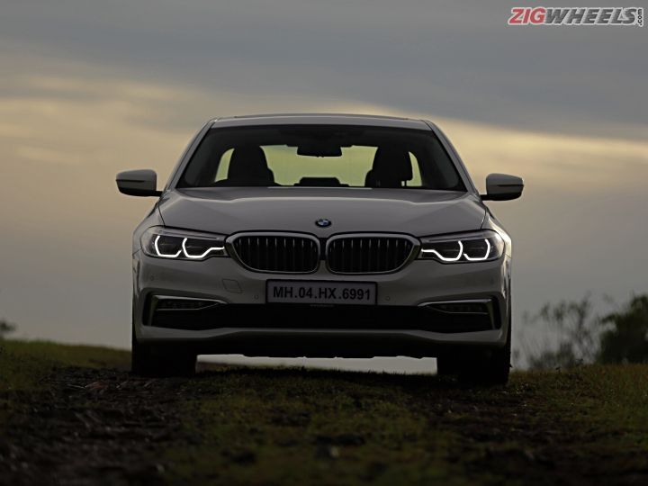 bmw 5 series 520d road test review zigwheels. Black Bedroom Furniture Sets. Home Design Ideas