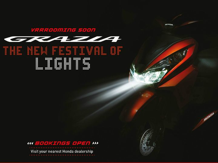 honda grazia booking commences zigwheels