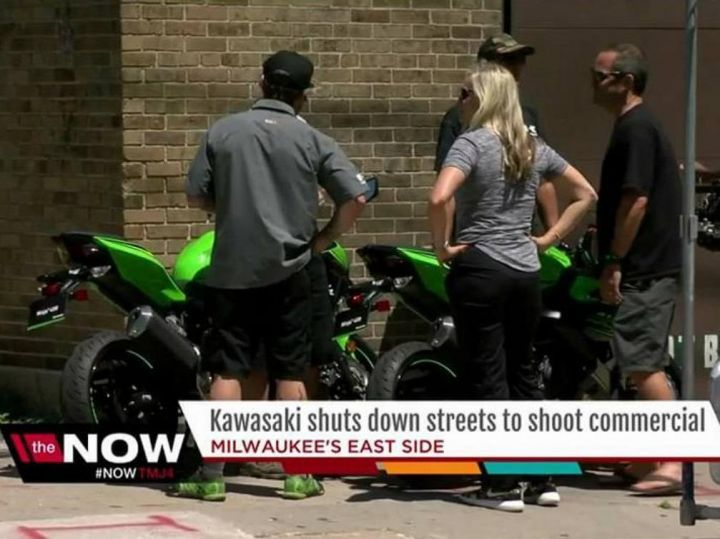 Kawasaki Ninja 400 Spotted Filming