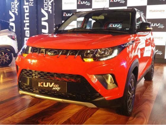 Mahindra To Launch KUV100 NXT Electric In 2019