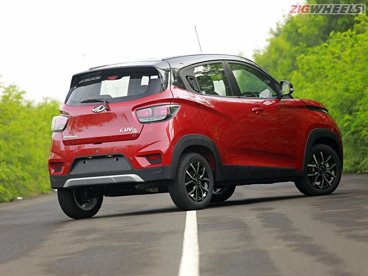 Mahindra Kuv100 Nxt >> Mahindra KUV100 NXT: First Drive Review - ZigWheels