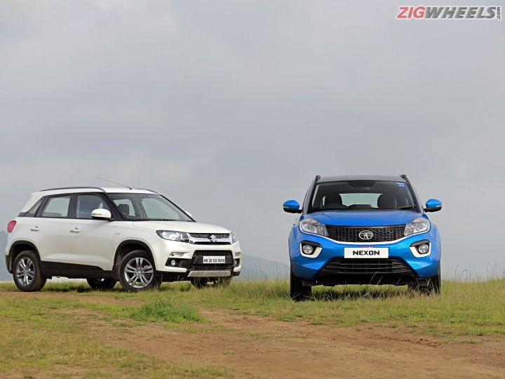 Tata Nexon vs Maruti Suzuki Vitara Brezza