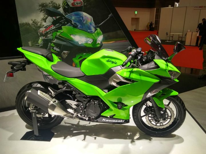 Tokyo Motor Show 2017 Kawasaki Ninja 250 Unveiled - ZigWheels