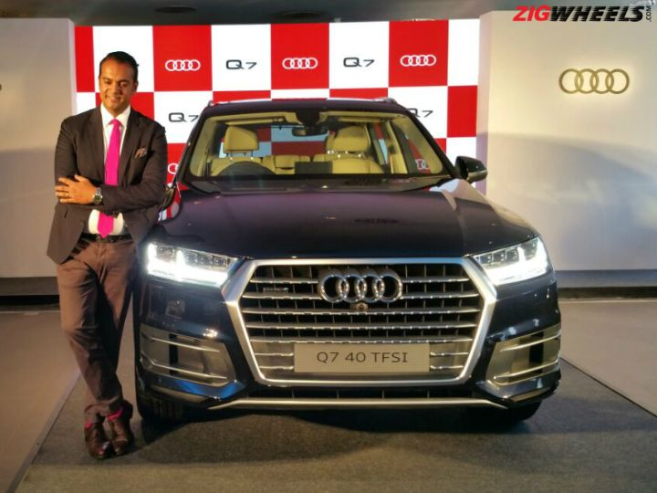 Audi Q7 40 TFSI Launched