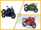Ducati SuperSport vs Kawasaki Ninja 1000 vs Suzuki GSX-S1000F: Spec Comparison