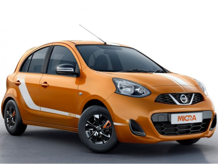 nissan micra fashion edition launched at rs lakh zigwheels. Black Bedroom Furniture Sets. Home Design Ideas