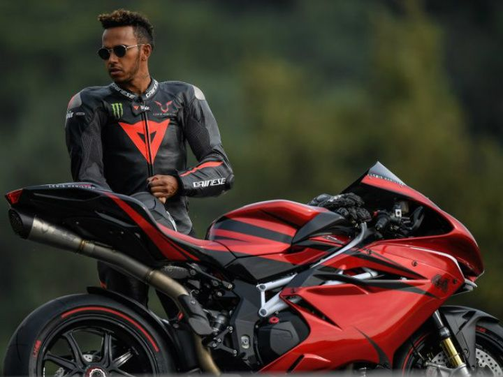 Lewis Hamilton with the F4 LH44