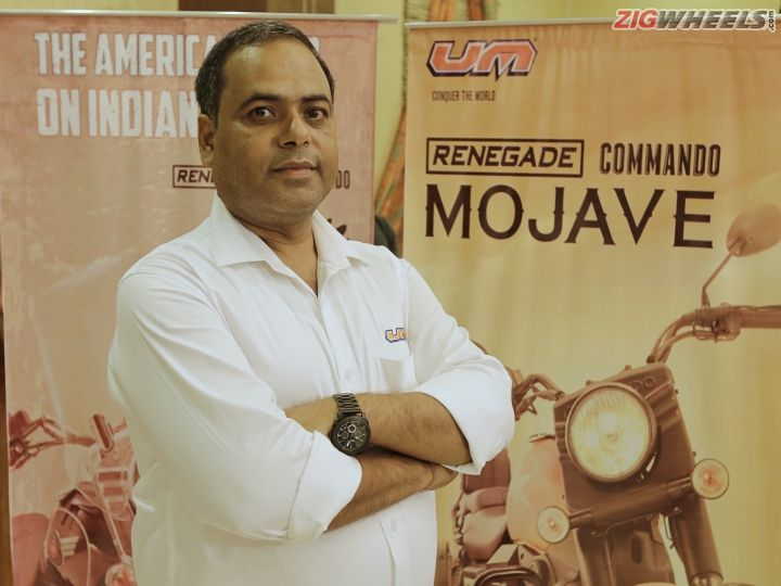 Interview With Rajeev Mishra, CEO, UM Motorcycles India