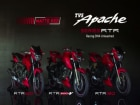 TVS Apache RTR Series Set To Paint It Red