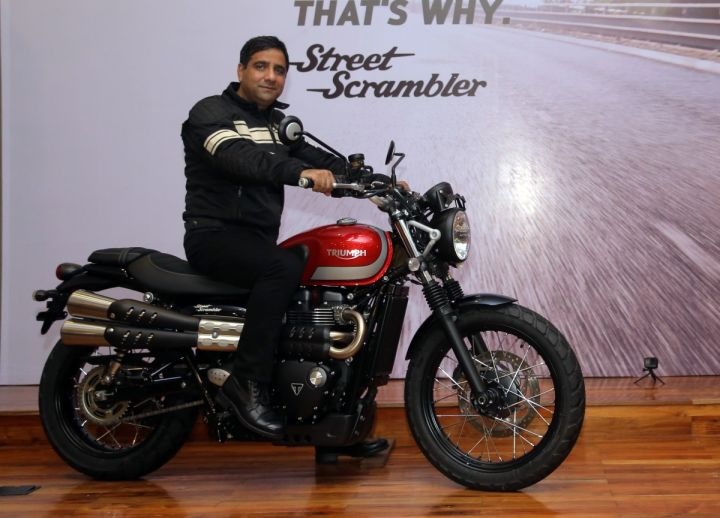 Triumph Interview with Vimal Sumbly