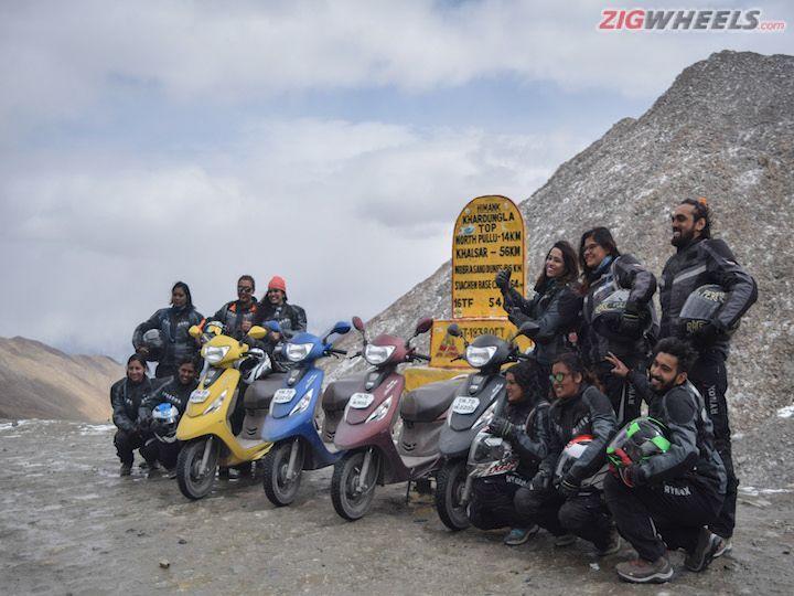 TVS Zest 110 Himalayan High Season 3