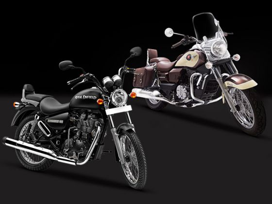 Spec Comparo: UM Renegade Commando Classic vs Royal Enfield Thunderbird 350