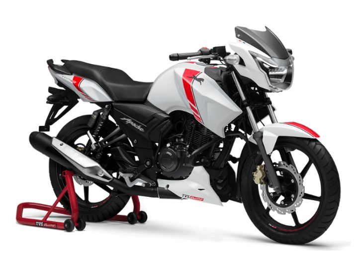 TVS Apache RTR 160 Race Edition Launched