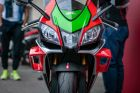 Aprilia 2018 RSV4 RF With Winglets Launched Overseas