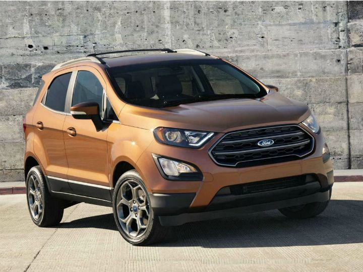 Ford EcoSport S Launch India
