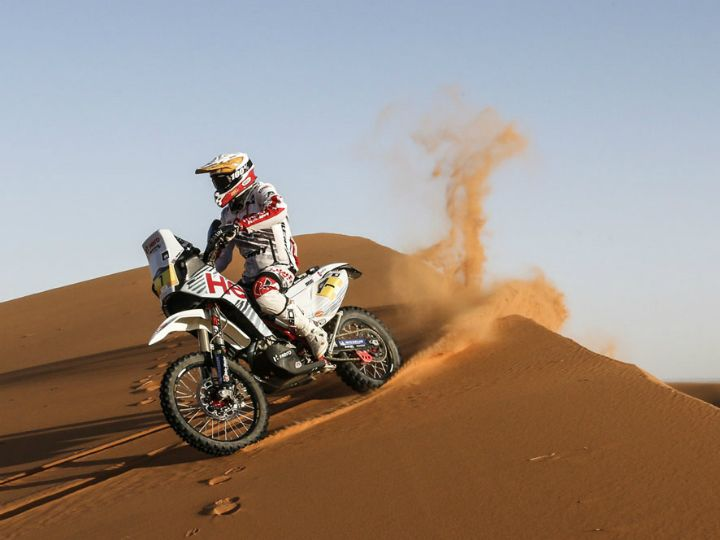 Hero And TVS Gear Up For 2018 Merzouga Rally
