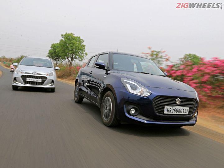 Maruti Suzuki Swift vs Hyundai Grand i10: Diesel Manual Comparison Review