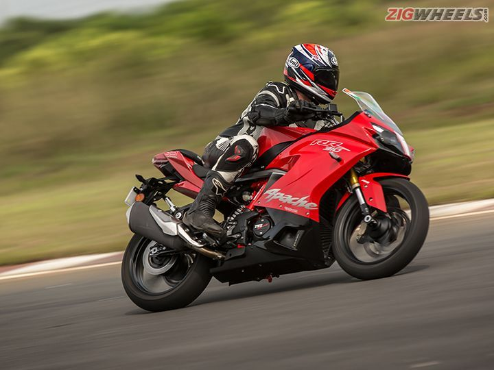 TVS To Launch Suspension Kit For Apache RR 310
