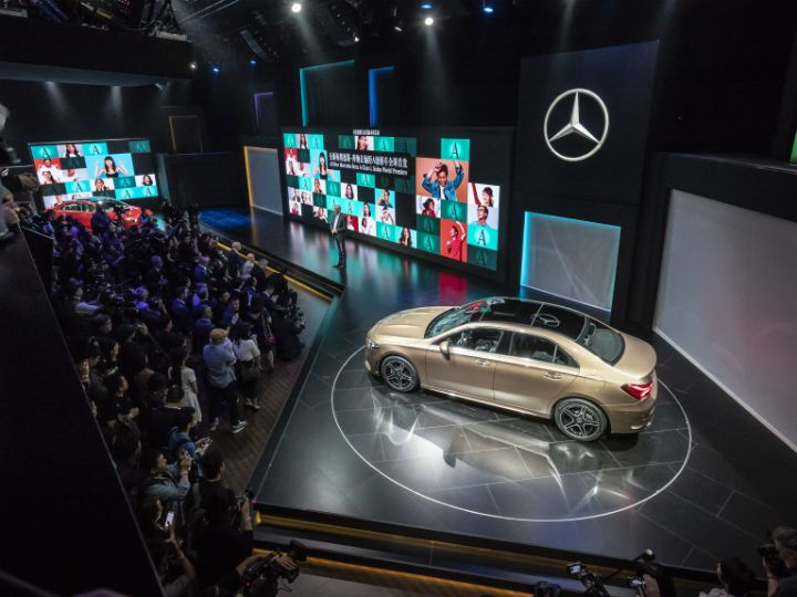 Mercedes-Benz A-Class L Sedan Breaks Cover: Looks Perfect For India